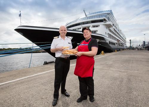 Greggs – Cruise Ship Delivery
