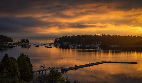 Nanaimo Harbor Sunrise