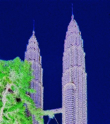 Malaysia - Kuala Lumpur - Petronas Twin Towers - 39dn