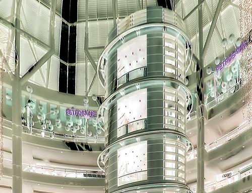 Malaysia - Kuala Lumpur - Petronas Twin Towers - Elevator - 36db