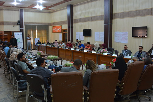 """Iraqi Youth: Pioneers for Dialogue and Stability"" workshop held in Wasit"