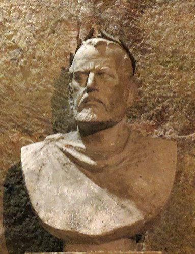 Bust Of Diocletian, Diocletian's Palace, Split, Croatia