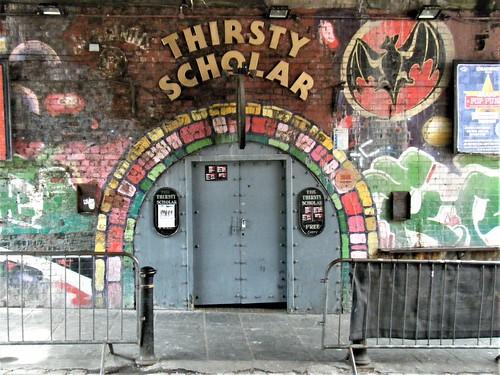 Manchester = Thirsty Scholar Bar = NEW WAKEFIELD STREET