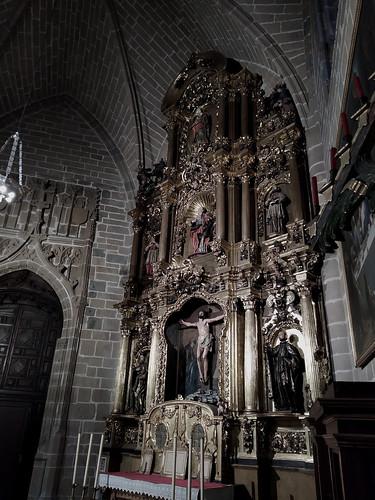 Catedral de Pamplona. Retablo de los Capellanes