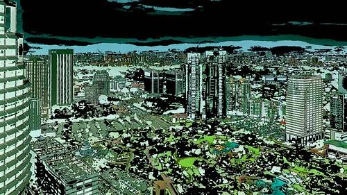 Malaysia - Kuala Lumpur - Petronas Twin Towers - 66ee