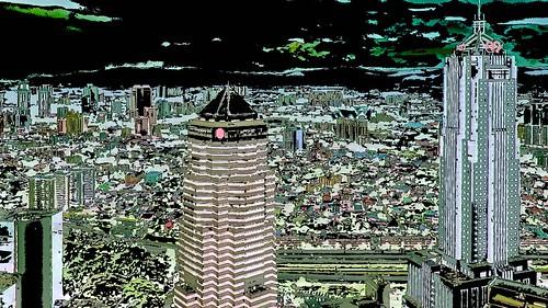 Malaysia - Kuala Lumpur - Petronas Twin Towers - 61ee