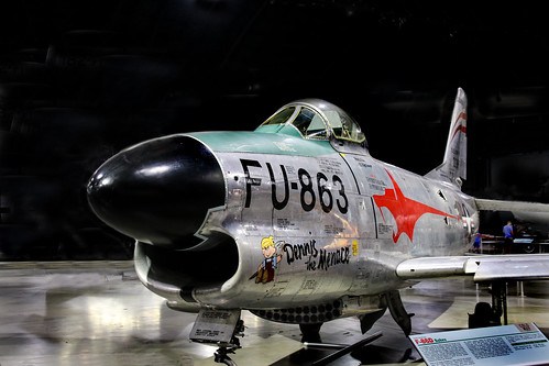 F-86 Sabre at the USAF Museum