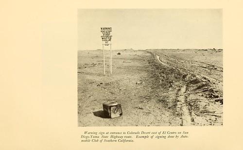 East of El Centro on San Diego-Yuma Hwy c 1910