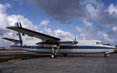 Fairchild F27 YV-O-CFO-1