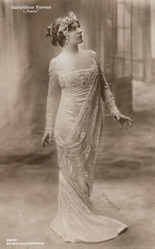 Geraldine Farrar in Tosca