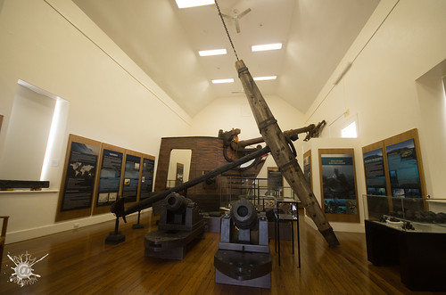 2018-10-12 IMGP6866   a one tonne anchor dominates the HMS Sirius Museum, Bounty St, Kingston, Norfolk Island (c1840 a chapel for convicts)