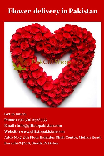 Flower delivery in Pakistan