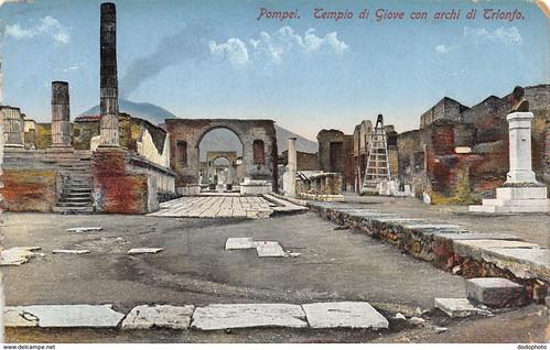 Pompei. Tempio fi Giove con Archi di Trionfo. C. Cotini