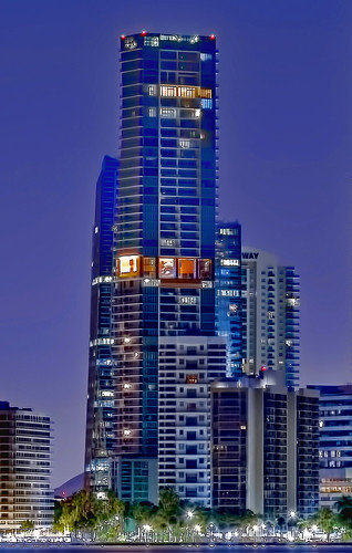 ECHO Brickell, 1451 Brickell Avenue, Miami, Florida, USA / Completed: 2017 / Design Architect: Carlos A. Ott / Architect: Cohen, Freedman, Encinosa & Associates Architects / Height:  635.01 ft / Floors:  57 floors / Bldg Use: residential condominium