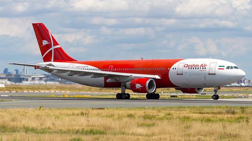 Airbus A300B4-605R EP-FQM Qeshm Airlines