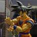 Son Goku Figur, Dragonball Z, auf der Gamescom