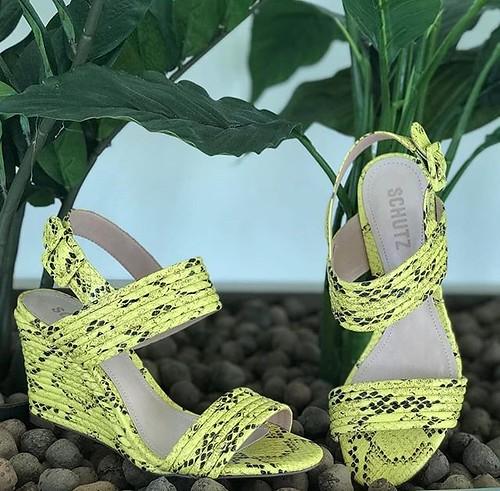 Animal Print + Neon ❤❤❤ @schutzoficial . . . . #instashoes #estilo #tendencia #modafeminina #melhoresmarcas #instamoda #novidades #loveshoes #shoes #sapatos #sapatosfemininos #fashion #sapatonovo #amo #donnacanela #girls #verao #verao202