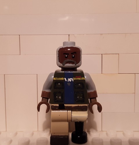 Custom Lego Half Life: Eli Vance