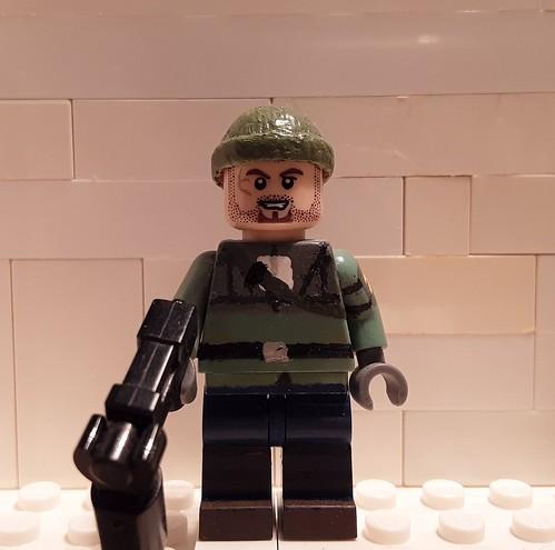 Custom Lego Half Life: Resistance Soldier