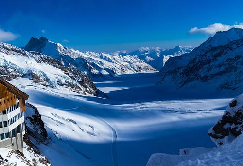 Jungfraujoch Valley