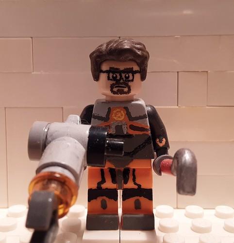 Custom Lego Half Life: Gordon Freeman