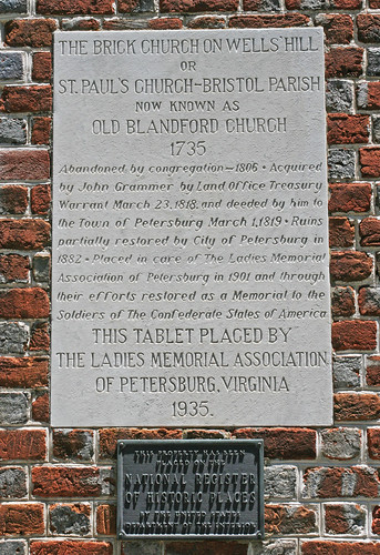 Old Blandford Church: Petersburg, Virginia