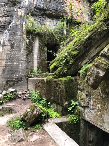 Adolf Hitler's bunker at the Wolfsschanze in North East Poland