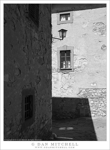 Street, Buildings, Shadows