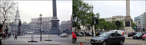 Trafalgar Square`1960-2019