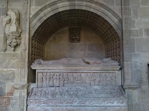 Mausoleo de Don Diego López de Haro. Monasterio Santa María la Real de Nájera