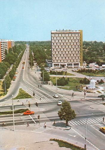 TIGLINA GALATI Intersection De Brăila-Coșbuc, 80 s