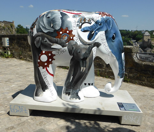 Elephant Parade, Luxembourg