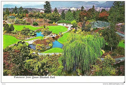 Vancouver, British Columbia Queen Elizabeth Park Gardens are situated in the Heart of the Arboretum at Little Mountain