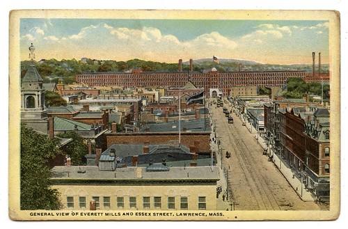 United States.lawrence.massachusetts.everett Mills.essex Street.