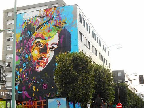 Vitry et le 13e arrondissement, 2 galeries street art de référence situées à 7km à vélo l'une de l'autre
