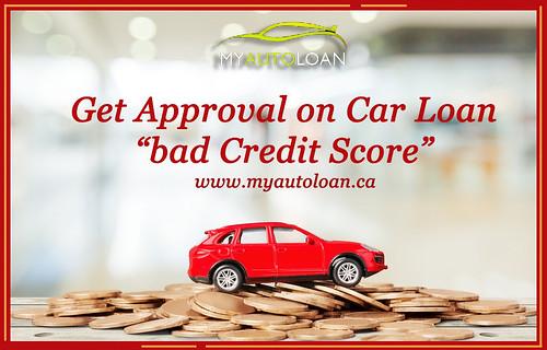 car loan on bad credit score