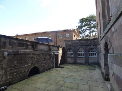 Berrington Hall - courtyard