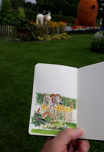 Homestead Park, York (#DrawingAugust, day 20)