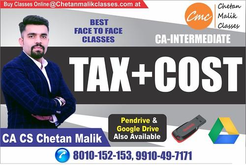 CA-INTER TAX-COST-IN-DELHI