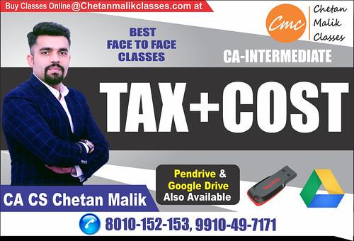 CA-INTER TAX & COST-IN-DELHI
