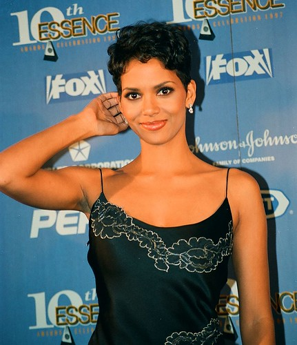 Halle Berry in gown Essence awards