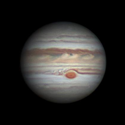 Jupiter 20190820 at 19:39 UT