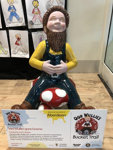 Mini Wullie's Gone Gnome