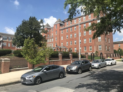 Former Church Home & Hospital/Broadway Overlook apartments, 100 N. Broadway, Baltimore, MD 21231