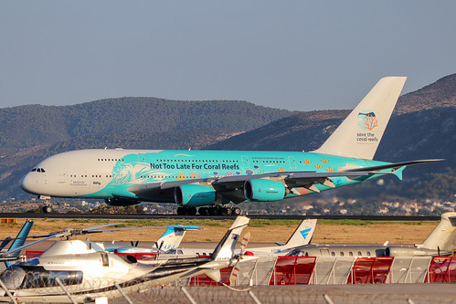 Hi Fly - 9H-MIP - A380-800 Special Livery