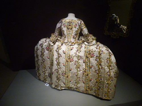 Berrington Hall - A Dress Fit for a King - Court Mantua, probably dating from the 1760s