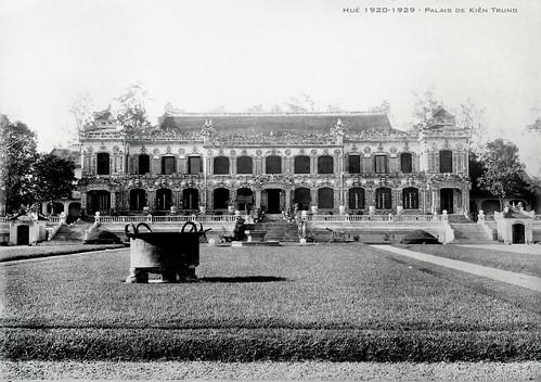 Hué 1920-1929 - Palais de Kiên Trung