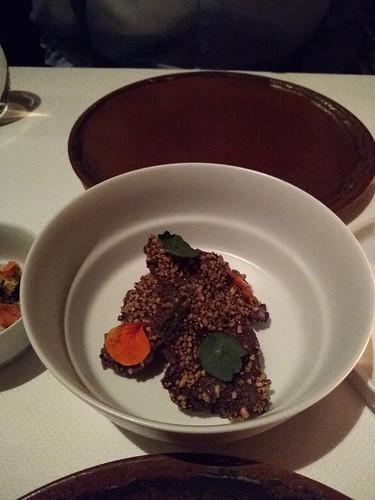 Black rice cracker - Quince - San Francisco