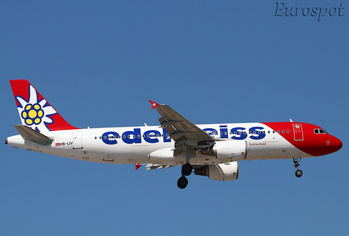 HB-IJV Airbus A320 Edelweiss