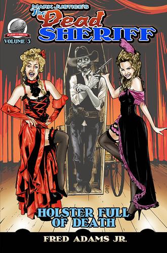 The Dead Sherrif #3 cover